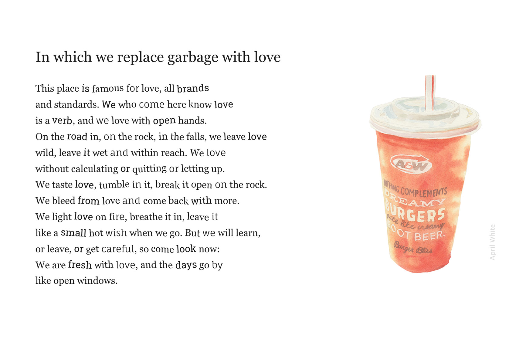 The Garbage Poems